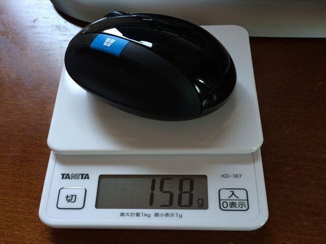 L6V-00008は158グラム