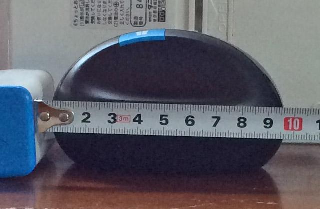 全長は10センチ