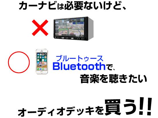 Bluetoothカーオーディオ