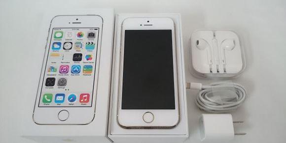 私のiPhone5Sはヤフオク出身です。