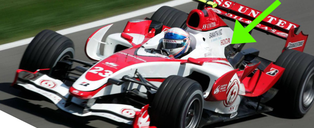 F1はミッドシップエンジン