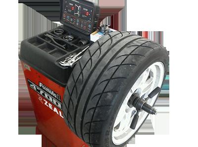 タイヤのバランス調整