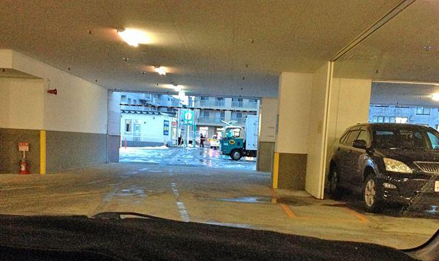 札幌本社のニトリ麻生店の駐車場