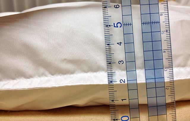 厚みは、5~6cm