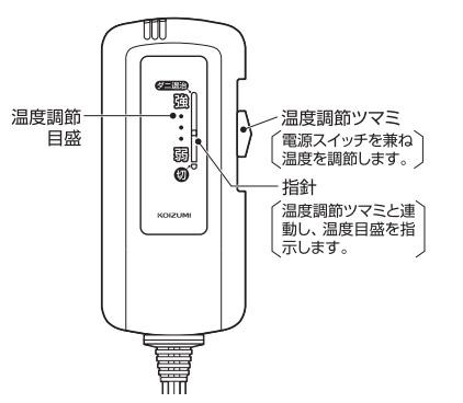 温度調節コントローラースイッチ