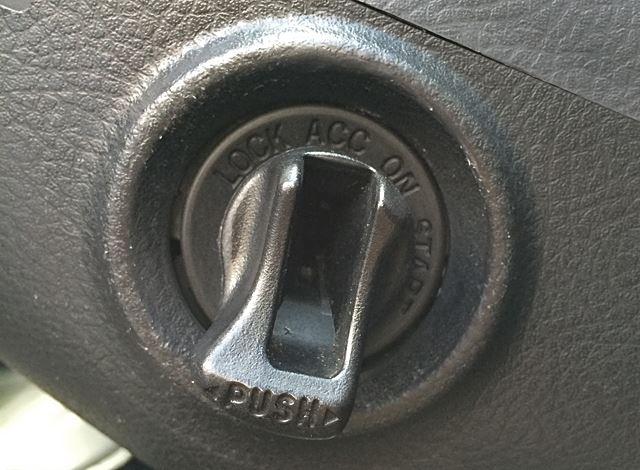 エンジンスイッチ