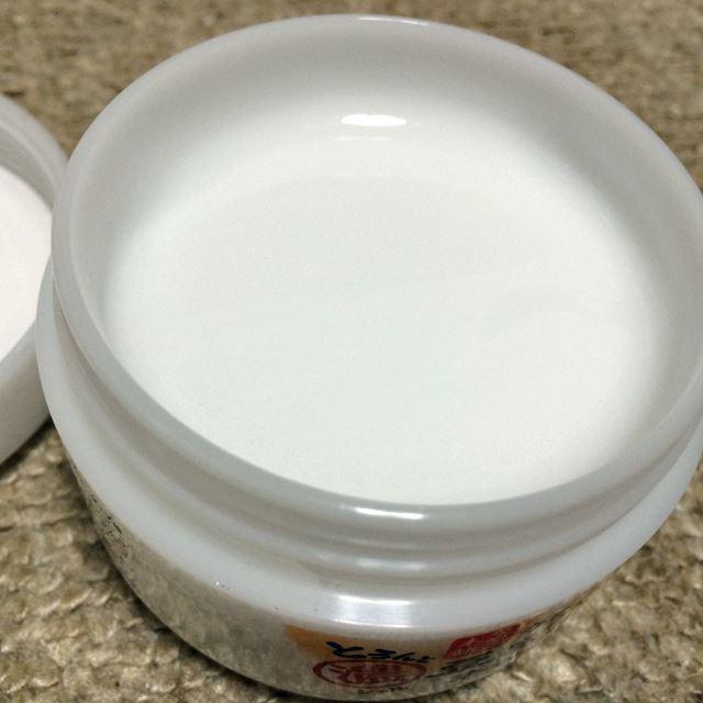 綺麗な白いクリーム