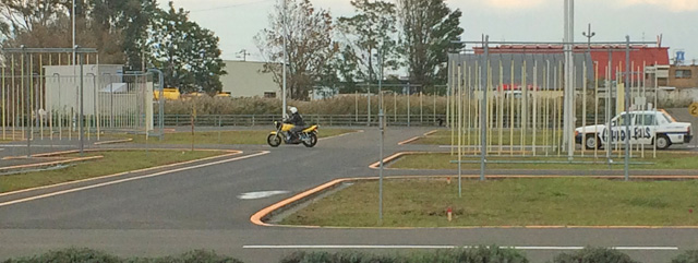 バイク普通免許の卒業検定試験