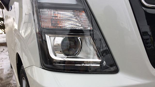 LEDプロジェクターヘッドライトのハイビームアシスト