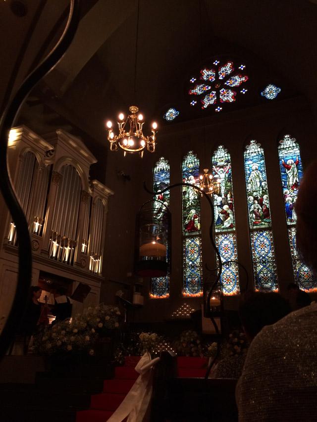 フランセス教会のチャペル(礼拝堂)