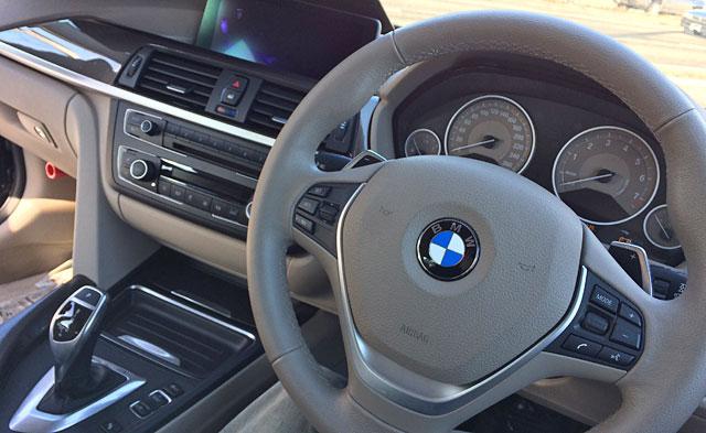 BMWアクティブハイブリッド_運転席