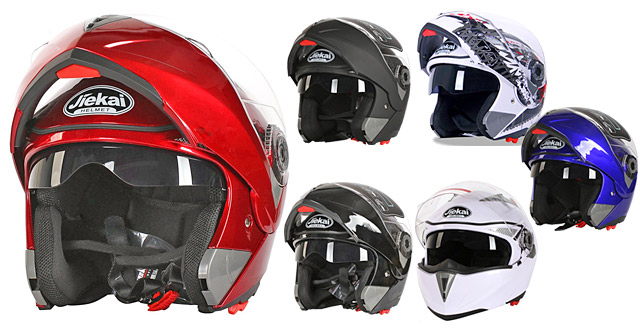 JK105 Bike Helmet システム フリップアップ