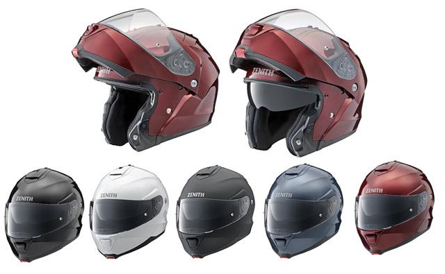 ヤマハゼニス、システムヘルメット