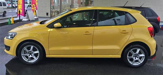 ポロ 黄色