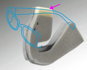 メガネを掛けたまま被れるJ-Force4