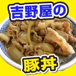 豚丼を食べる。帯広よりも美味しい吉野屋。