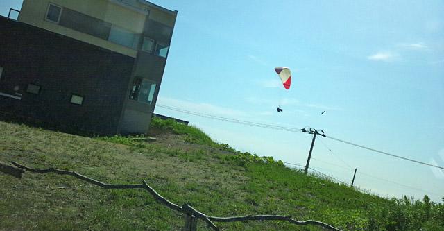 北海道石狩市でパラグライダーが出来る