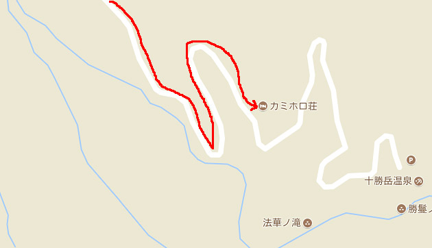 上富良野町から十勝岳へ。