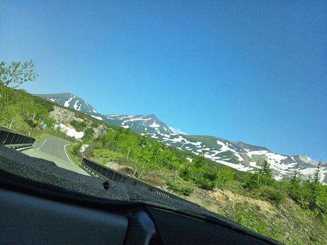 山頂は空が広がります