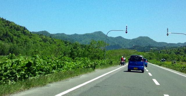 ツーリングしたくなる北海道の道路