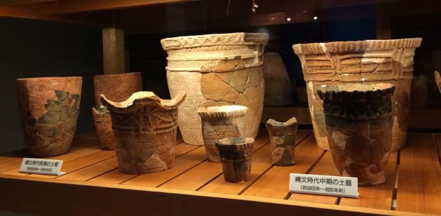 4000~5000年前に作られた土器