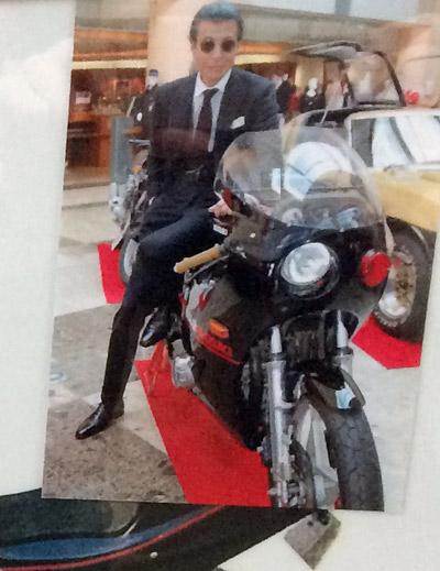舘ひろしとカタナ1100cc