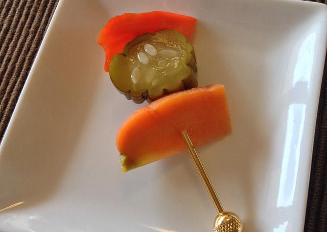前菜・野菜のピクルス