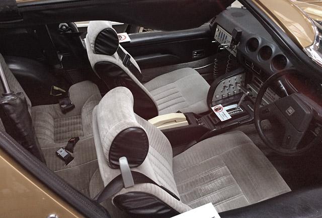 スーパーゼットの運転席・樹種席シート