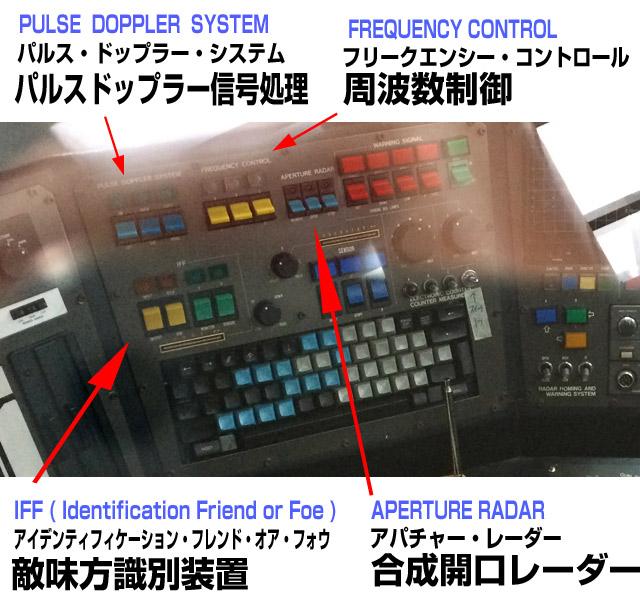 レーダーシステムや敵味方識別装置を装備。