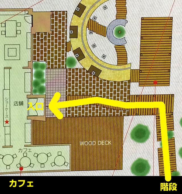 フラノデリスの地図