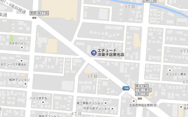 東光店の場所