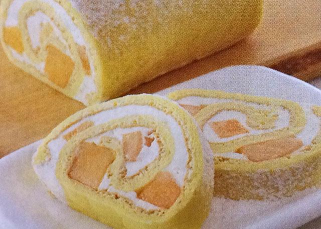 夕張メロンロールケーキ