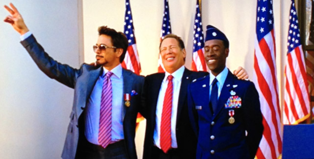 大統領と軍曹とイェーイ!