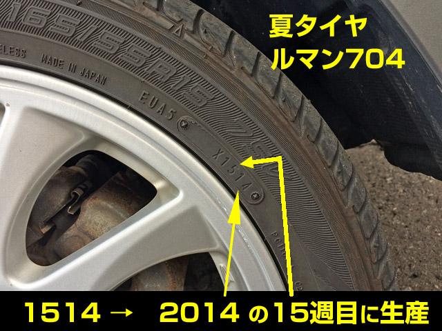 3年使用したルマン704