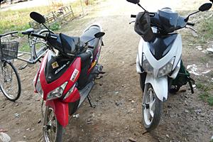 125ccスクーター。新車価格12万円 3~4万バーツ