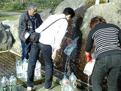東川町 大雪旭岳の源水