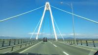 石狩の大橋です