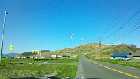 厚田区望来の風車