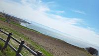 厚田区の海が広がります