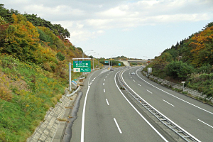 高速道路 北海道 札樽道