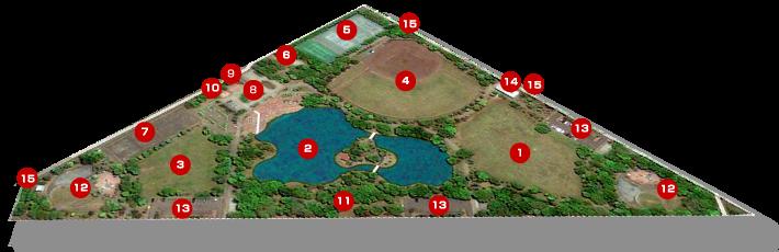 紅葉山公園全体図