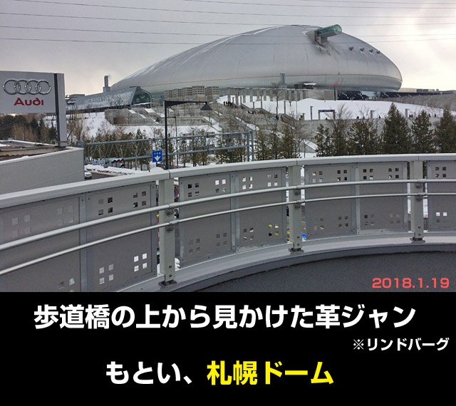 モーターショー会場、札幌ドーム