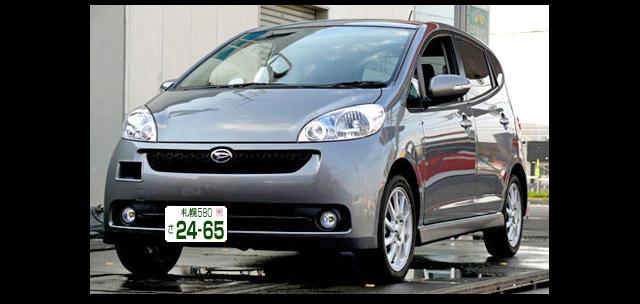 軽自動車ソニカの白ナンバーイメージ図