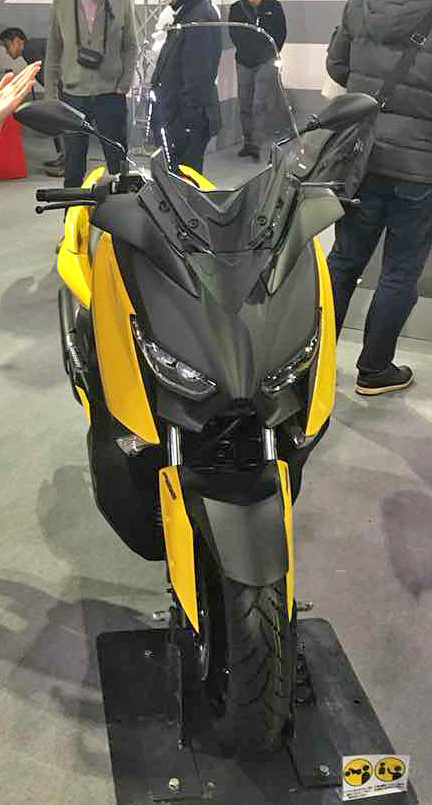 YAMAHA X-MAX 250cc 発売前