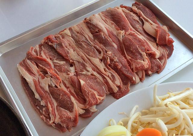 お肉はラムではなく熟成マトンを使用