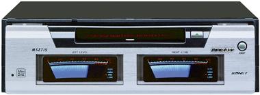 アゼストのVU音声レベルメーター付きMDデッキ