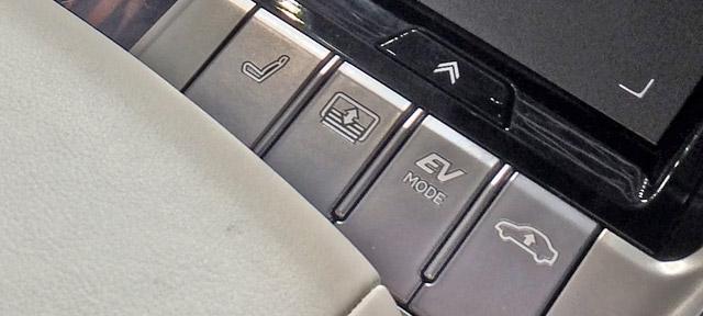 LS500h-EV走行モードスイッチ