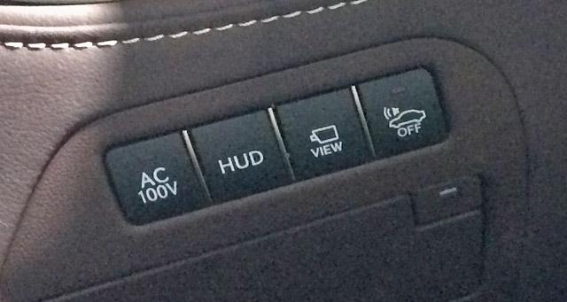 LS500h-HUDヘッドアップディスプレイスイッチ