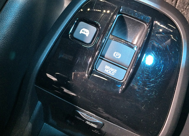 ステップワゴンハイブリッド-EV走行スイッチ