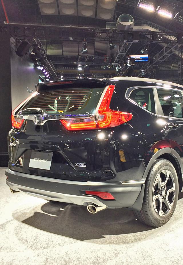 新型CR-V-リアテールデザイン
